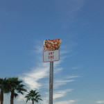 """""""Pizza in the Wild"""" is an on-going photography series by Los Angeles-based photographer Jonpaul Douglass. Delicious stuff indeed."""