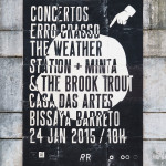 Concertos ERRO CRASSO #03: The Weather Station (CAN) + Minta & The Brook Trout (PT)