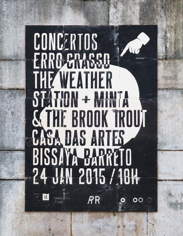 ERRO CRASSO Confooso Weather Station Minta Brook Trout