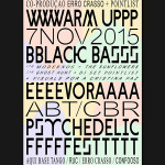Concertos ERRO CRASSO #19: Warm-up BLACK BASS – Évora Psychedelic Fest 2015