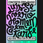 Concertos ERRO CRASSO #23: Luís Severo + Homem em Catarse
